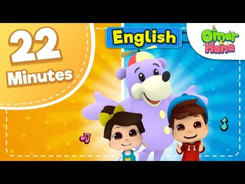 Omar & Hana & Zaky | 22 Minutes Compilation Islamic Songs For Kids