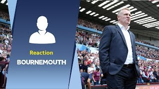 Dean Smith's Bournemouth reaction: Mistakes cost us