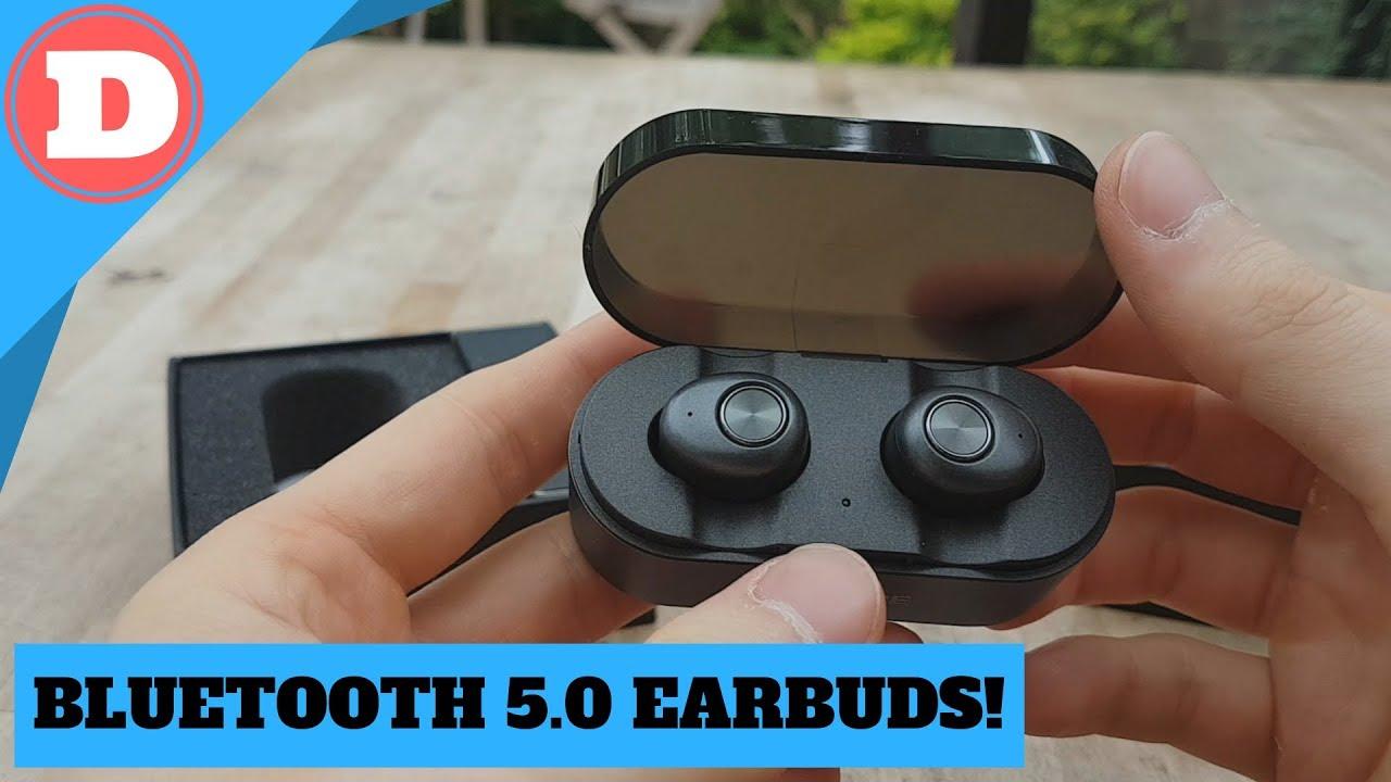 34eeb569b32 ENACFIRE E18 Wireless Headphones Bluetooth 5.0 - Quick Review - YouTube