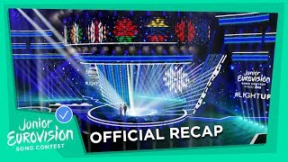 Recap of all the Junior Eurovision 2018 songs! 🎶