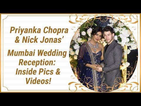 Priyanka Chopra & Nick Jonas' Mumbai Wedding Reception: Inside Pics and Videos! | Nickyanka