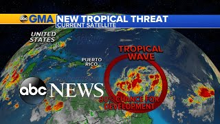 New storm forms in the Atlantic l GMA