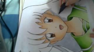 Kagome Higurashi From Inuyasha Speed Paint