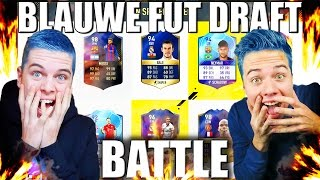 BLAUWE FUT DRAFT BATTLE VS PLAYFIFANL!! FIFA 17 NEDERLANDS