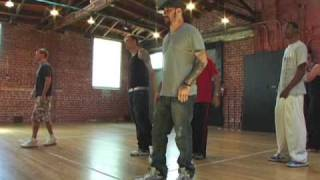 Backstreet Boys rehearsal behind the scenes