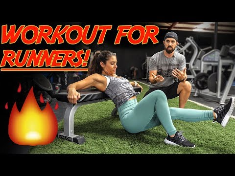 5 Minute LOWER BODY WORKOUT for Runners / RUN FAST & LONG