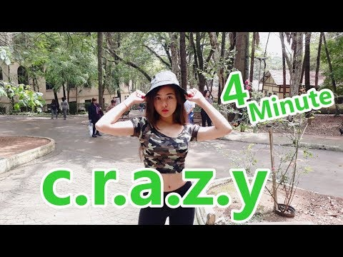 [KPOP IN PUBLIC] 4MINUTE - 미쳐(Crazy) - DANCE COVER - BRAZIL
