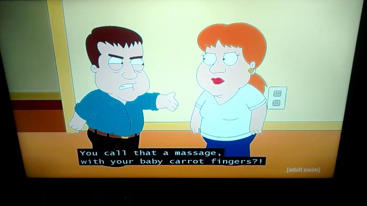 Family guy old man and midget
