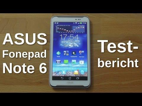Asus Fonepad Note 6 FHD - Testbericht - www.technoviel.de