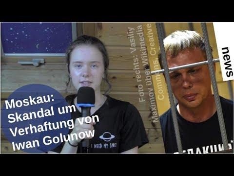 Moskau: Skandal um Verhaftung von Iwan Golunow