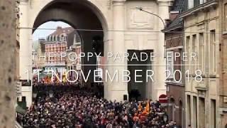 Belgium - Ieper - Poppy Parade 11 november 2018