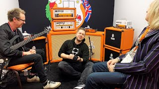 Orange Amps Bass Butler, Terror Stamp and Little Bass Thing | NAMM 2020