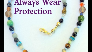 Always Wear Protection. Protection from Everything necklace