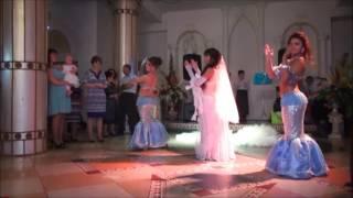 Сюрприз невесты для жениха!С участием ШОУ восточных танцев БАДРИЯ!
