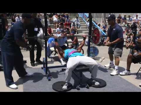Muscle Beach Bench Press Event