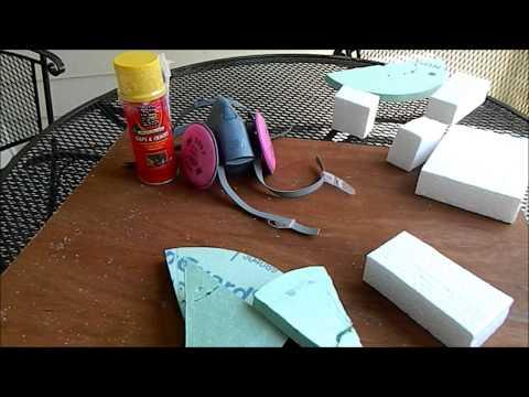Hot Knife Foam Cutting Demo