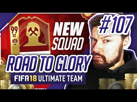 FULL EPL SQUAD BUILDER! - #FIFA18 Road to Glory! #107 Ultimate Team