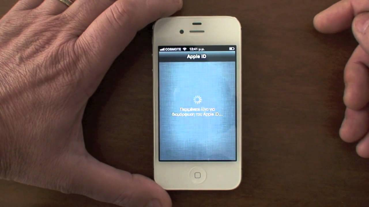 iphone 4s reset iphone 4s unboxing amp restore from icloud 10927