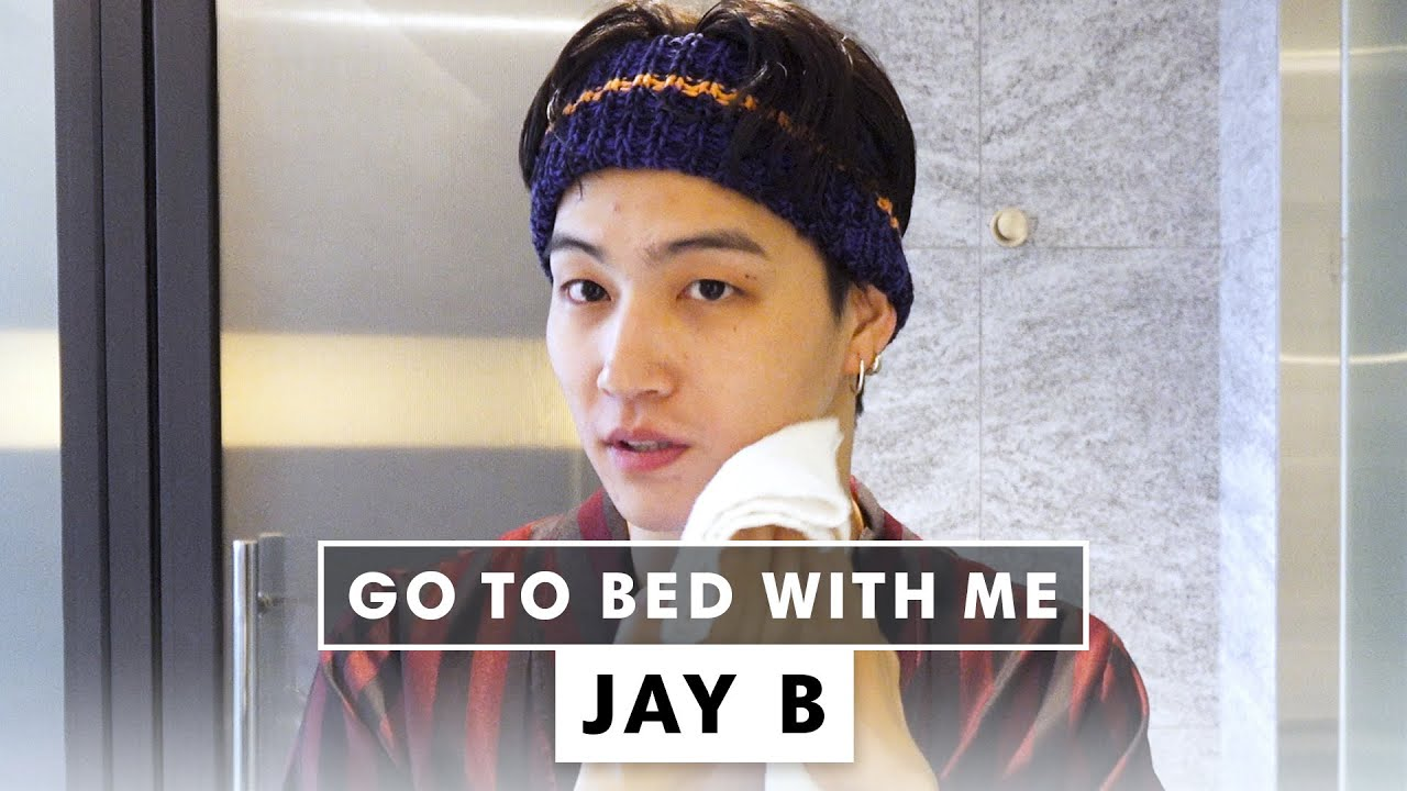 Jay B's Nighttime Skincare Routine | Go To Bed With Me | Harper's BAZAAR