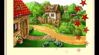 "Пазлы детские онлайн бесплатно - Пазл ""В деревне у бабушки"""