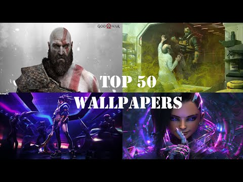 TOP 50 WALLPAPERS ANIMATED/WALLPAPER ENGINE 2019/2020