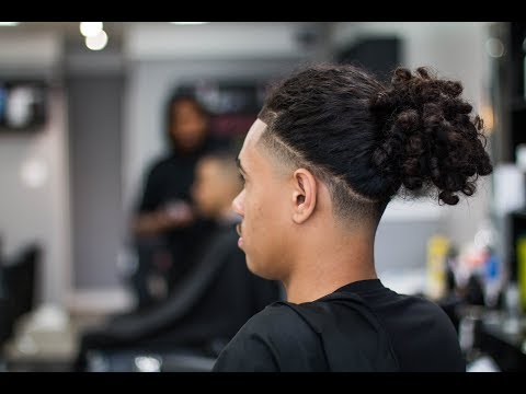 BALD TAPER W/ LONG HAIR OR BRAIDS ON TOP | @barberjdub