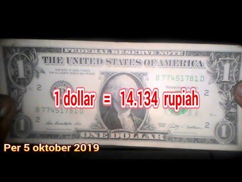 TERKUAK! 1 Dollar Berapa Rupiah