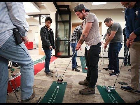 Dunwoody Engineering Drafting & Design Students Make Golf Putters #BornToDo