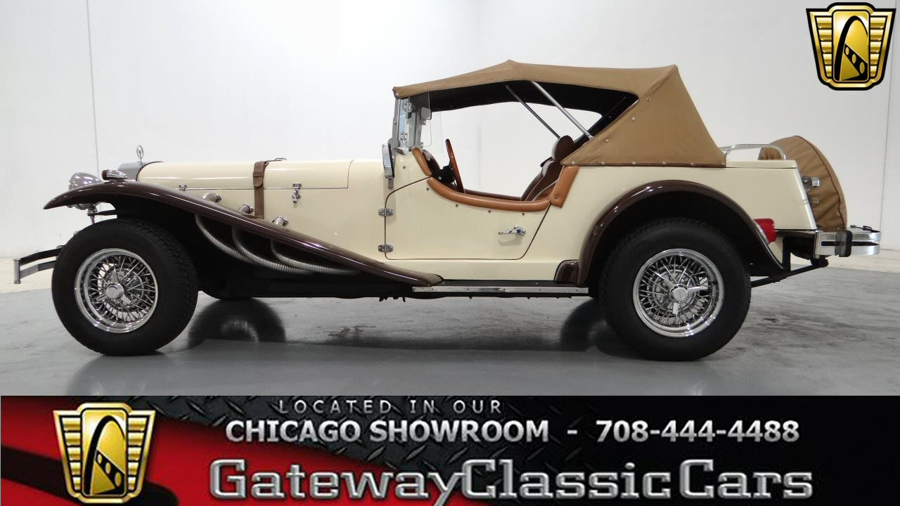 1929 Mercedes Gazelle SSK Replica Gateway Classic Cars Chicago ...