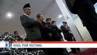 CBS21: Ahmadiyya Muslims hold prayer vigil for San Bernardino victims