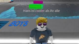 Hans versucht sich Mädchen in Roblox zu klären
