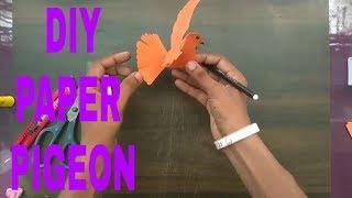 Kağıt güvercin nasıl DİY Kağıt güvercin: aj/