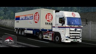 [ETS2] 477 Project Japan 新型・日野プロフィア で 日本通運 | 富山 (JPN) ~ 金沢 (JPN)