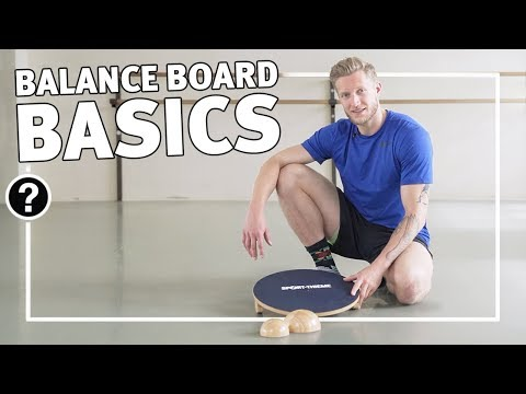 "Video: Sport-Thieme® Balance Board ""Deluxe"""