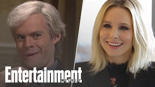 Kristen Bell & Keith Morrrison: How Accurate Is Bill Hader's SNL Impression? | Entertainment Weekly