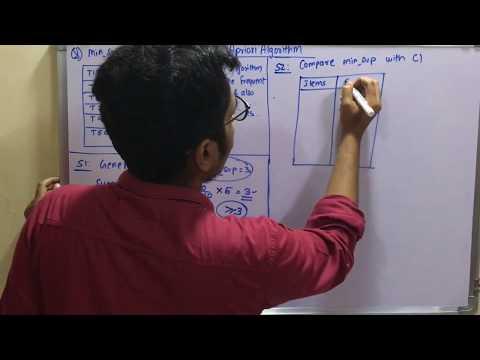Data Mining & Business Intelligence | Tutorial #21 | Apriori Algorithm (Solved Problem)
