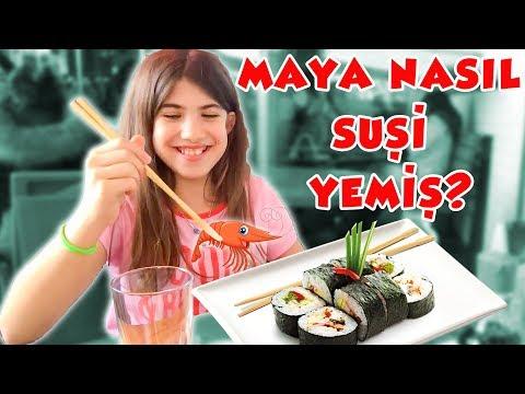 Maya Nasıl Suşi Yedi Sofra Kuralları | Bizim Aile
