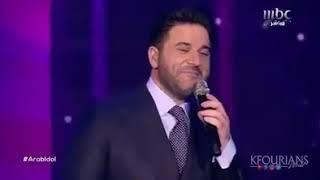 ملحم زين وائل  كفوري يشعلان المسرح