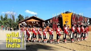 Dzulha folk song by Chakhesang Naga tribe at Hornbill festival