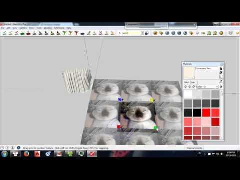 Tự học V-Ray Sketchup  Tập 1 : Làm quen với Vray 2.0 Sketchup