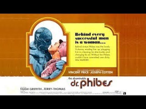 The Abominable Dr. Phibes (1971) Español Latino Película Completa