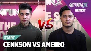 CENKSON VS AMEIRO VOORRONDE 3 DJ BATTLE