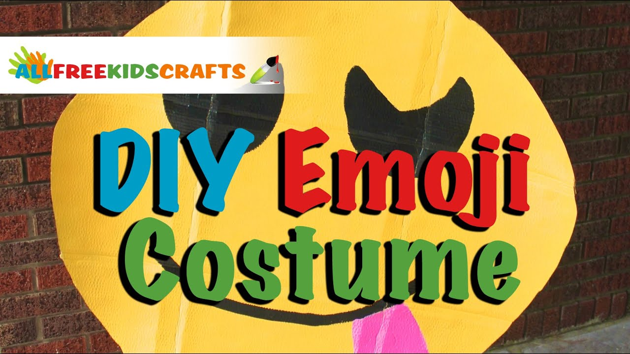 Diy emoji costume youtube solutioingenieria Gallery