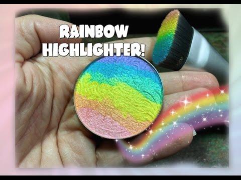RAINBOW HIGHLIGHTER!- FIRST IMPRESSION FRIDAY!