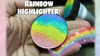 RAINBOW HIGHLIGHTER!- FIRST IMPRESSION FRIDAY!