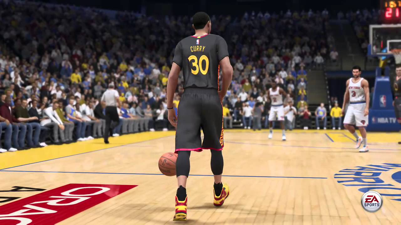 nba live 15 content update warriors chinese new year jerseys youtube - Warriors Chinese New Year Jersey