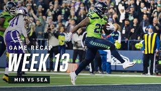2019 Week 13: Seahawks vs Vikings Recap