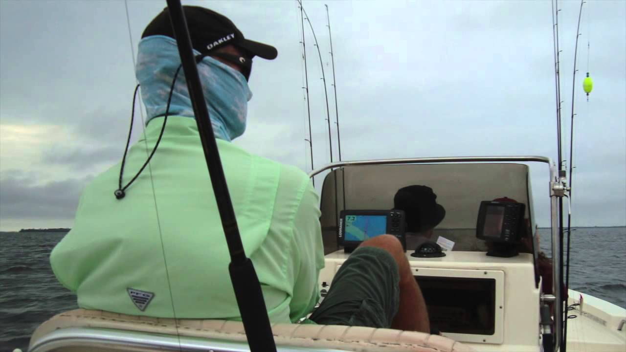 Fishing with davey dee 39 s charters youtube for Davey s locker fish count