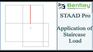 STAAD Pro Tutorial For Beginners [Episode 20]: Application Of Staircase Load