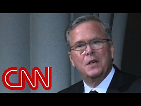 Jeb Bush gives eulogy for mother Barbara Bush